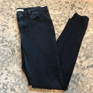 Uniqlo Ultra Stretch Skinny Leg Jeans in Dark Wash